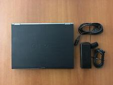 "Sony VAIO Laptop VGN-SZ450N 13.3"" 64GB SSD Kingston, 2GHz, 2GB RAM Black Carbon"