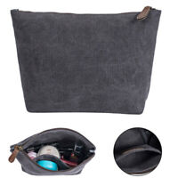 Canvas Organizer Bag Accessories Toiletry Cosmetic Make Up Wash Bag Travel Kit