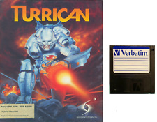 TURRICAN : game Commodore AMIGA FLOPPY DISC  (read before) verbatim