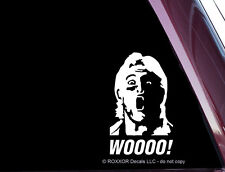 Ric Flair - WOOO! - Precision-cut Vinyl Decal / Sticker NOT PRINTED B-66