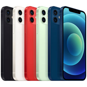 Brand New iPhone 12 128gb White Black Green Blue Red Unlocked Tax Invoice Warran