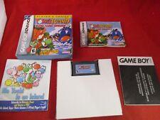 Yoshi's Island: Super Mario Advance 3 (Nintendo Game Boy Advance, 2002) COMPLETE