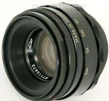 Helios 44-2 2/58mm F2 PRIME Lens M42 or DIGITAL fit (BIOTAR Swirly Bokeh Effect)