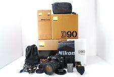 Nikon D90 12.3MP SLR Camera 8175 shots Kit w/ 18-200【Top M】 From Japan #555958