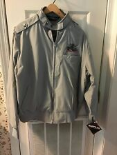 Cooper Cobra G/T Nylon. Made In Usa Large Gray Colored Jacket. Nwt