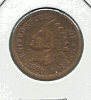 Indian Head Cents  (1880)