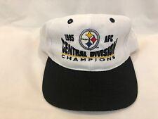 Vintage Pittsburgh Steelers 1995 AFC Champions Snapback Hat