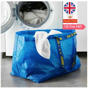 IKEA FRAKTA Blue Storage, Carry Bags Shopping, Laundry, Moving 71L