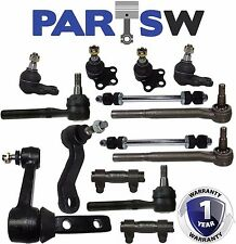 14 Pieces Front Suspension & Steering Kit - Dodge Ram 1500 Truck 2000 - 2001 RWD