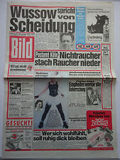 Bild Zeitung 27.11.1987, Klausjürgen Wussow, Madonna, Christa Kinshofer