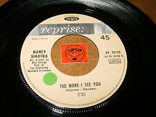 NANCY SINATRA - THE MORE I SEE YOU - I CAN'T GROW PEACHES ON   / LISTEN - GIRL