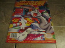 Nintendo Power Volume 57 Bugs Bunny with poster and Cards