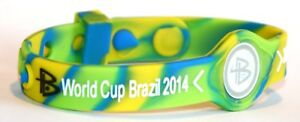 Power Balance Ions Silicone Bracelet World Cup 2014 Bracelet Sports Tcm
