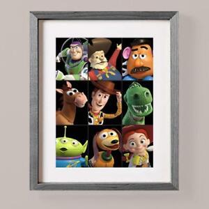 Toy Story Black Buzz Woody Jessie Rex Slinky Bedroom Wall Decor Bedroom Gift