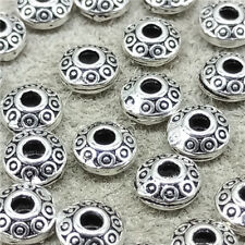 10pcs of 925 Sterling Silver UFO Saucer Beads for Bracelet