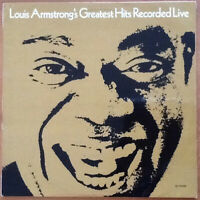 Vinile 33 giri Louis Armstrong – Greatest Hits Recorded Live LP