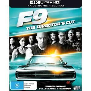 FAST & FURIOUS 9 4K ULTRA HD & BLU-RAY STEELBOOK, BRAND NEW , FREE POST,
