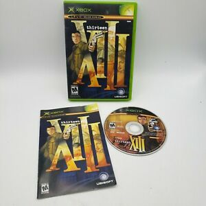 XIII Thirteen for Microsoft Xbox Complete in Box