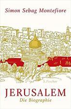 Jerusalem: Die Biographie Simon Sebag Montefiore German hardback NEW COPY