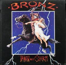 BRONZ 'Taken By Storm' Near Mint Never played 1984 1st press Promo LP