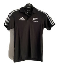 NWT Adidas ClimaliteAll Blacks Rugby polo shirt jersey Mens sz. S