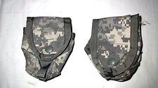USGI Military Surplus ACU Grenade Pouch MOLLE II SDS, M-B, Eagle Snap Closure VG
