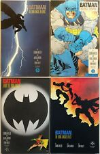 Batman The Dark Knight Returns #1-4 1st prints. Frank Miller 1986.