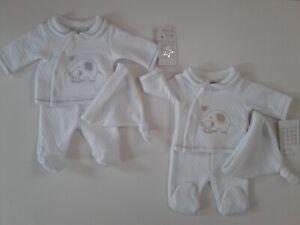 Premature tiny baby boys girls clothes 3 piece set 3-5 lbs 5-8 lbs