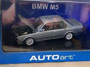 RARE AUTOART 55152 BMW M5 E28 1/43 CAR MODEL DEPHIN GREY METALLIC