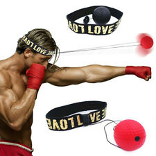 Boxing Training Fight Ball Head Band Reflex Speed Punch Combat Muscle-Exercise
