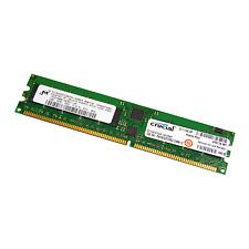 Crucial 1 GB DDR pc2700r 333 MHz 184-pin ECC REG memoria del server ct12872y335.18 lfd4y