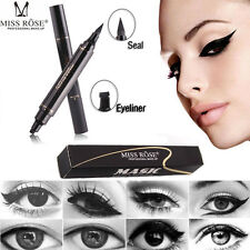 'Winged Eyeliner Stamp Waterproof Makeup Cosmetic Eye Liner Pencil Black Liquid'