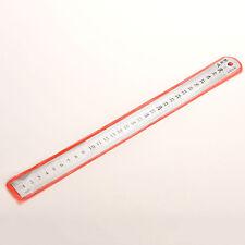 30cm Great Metal Lineal metrische Regels Präzision doppelseitiges Messwerkzeugs