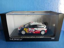 CITROEN C4 WRC #1 WINNER RALLYE DU VAR 2009 SEBASTIEN LOEB NOREV 155431 1/43