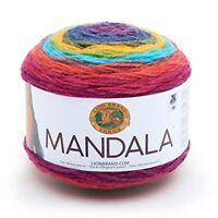 Yarn Mandala Wizard - Lion Brand Dk Multi Coloured Knitting Crochet Cake New