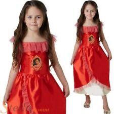 Disfraces de poliéster de color principal rojo, princesa