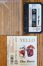 Yello - The Race Extended Play Cassette EXTREMELY RARE Free Shipping In Canada