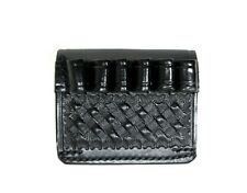 Leather Ammo Cartridge Carrier 38 357