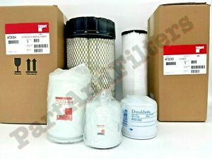Filter Kit For Bobcat S160 S185 S205 Skid Steer Oil Air Fuel Hydro