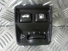 2001 JAGUAR S-TYPE 3.0 V6 SPORT BOOT RELEASE PETROL FLAP SWITCH PANEL