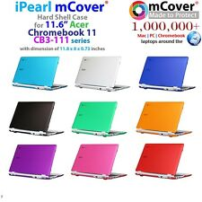NEW mCover light weight Hard Case for Acer CB3-111 11.6-inch Chromebook