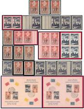 Brazil Collection Scott #713 & 714 Overprint Stamps, Singles, Pairs, Blocks, S/S