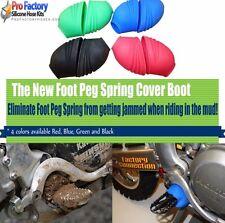 Footpeg Spring Covers Foot Peg Boots Kx250f Kx450f  Kfx 250f 450f Klx Kl Kx Kdx