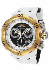 InvictA 16991 Chronograph VENOM Diver Swiss YELLOW Gold BLACK WHITE Ret$1495 NEW