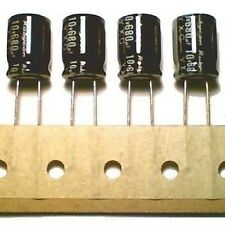 Lot of 8 Electrolytic Capacitors 680uF 10V Rubycon 105C
