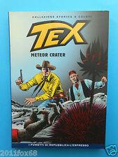 fumetti tex n. 70 collezione storica a colori meteor crater fumetti repubblica