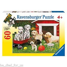 Ravensburger Puppy Party - 60 Piece Puzzle NEW! FREE SHIPPING!