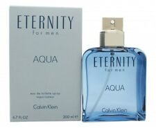 CALVIN KLEIN ETERNITY AQUA EAU DE TOILETTE 200ML SPRAY - MEN'S FOR HIM. NEW