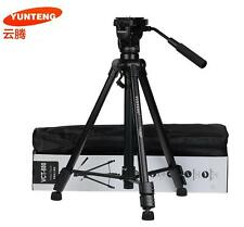 YUNTENG VCT-880 Portable Video camera telescope VCR Aluminum Tripod Camcorder DV