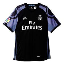 Camisetas de fútbol de clubes españoles negro talla L